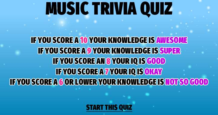 Your score tells you everything about your knowledge!
