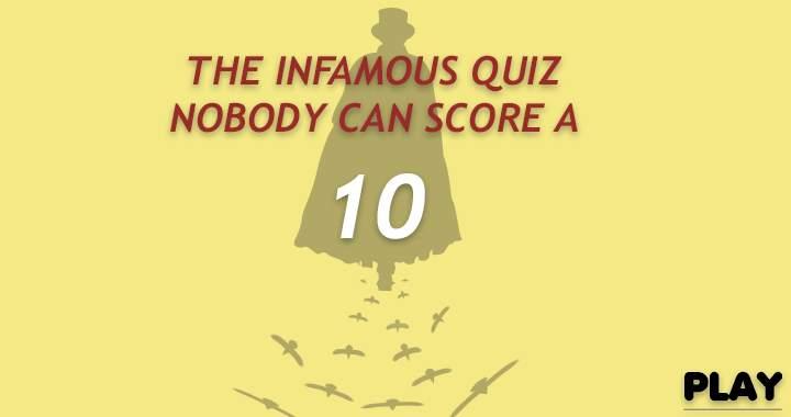 Infamous Quiz