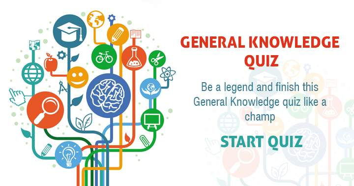 Be a legend and finish this general knowledge quiz like a champ