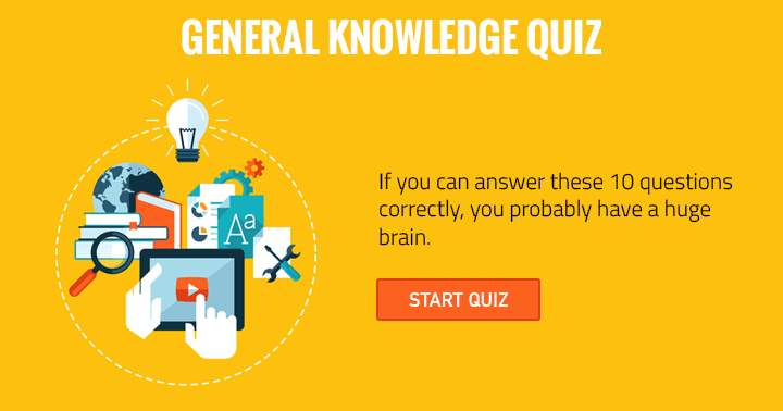 Hard General Knowledge Trivia Quiz. Can you do it?