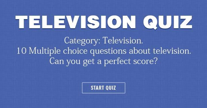 Very hard television quiz