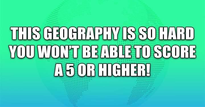 Hard Geography Quiz