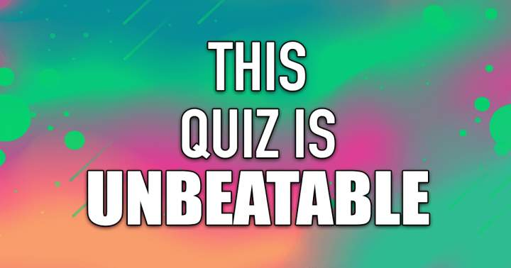 Unbeatable Knowledge Quiz