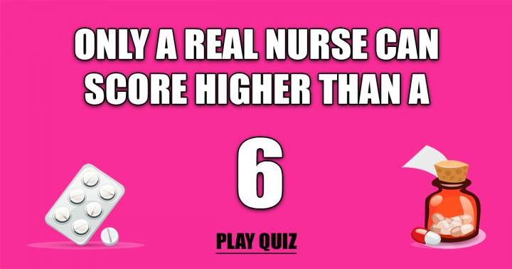 Play Our Medical Quiz