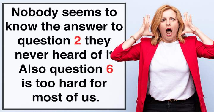 10 Unbeatable Questions