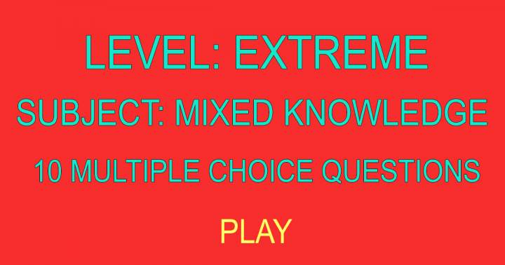 10 Multiple Choice Questions