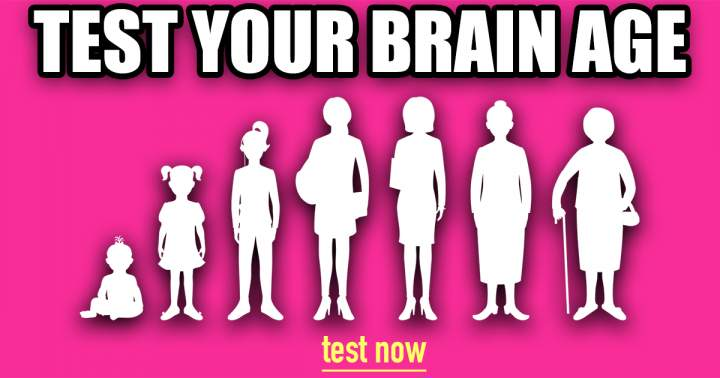 Test Your Brain Age