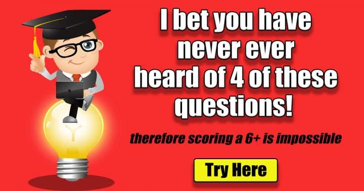 Impossible Knowledge Quiz